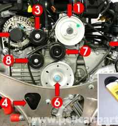porsche 911 carrera belt replacement 996 1998 2005 2002 nissan 3 5 engine diagram nissan altima 3 5 [ 2591 x 1773 Pixel ]
