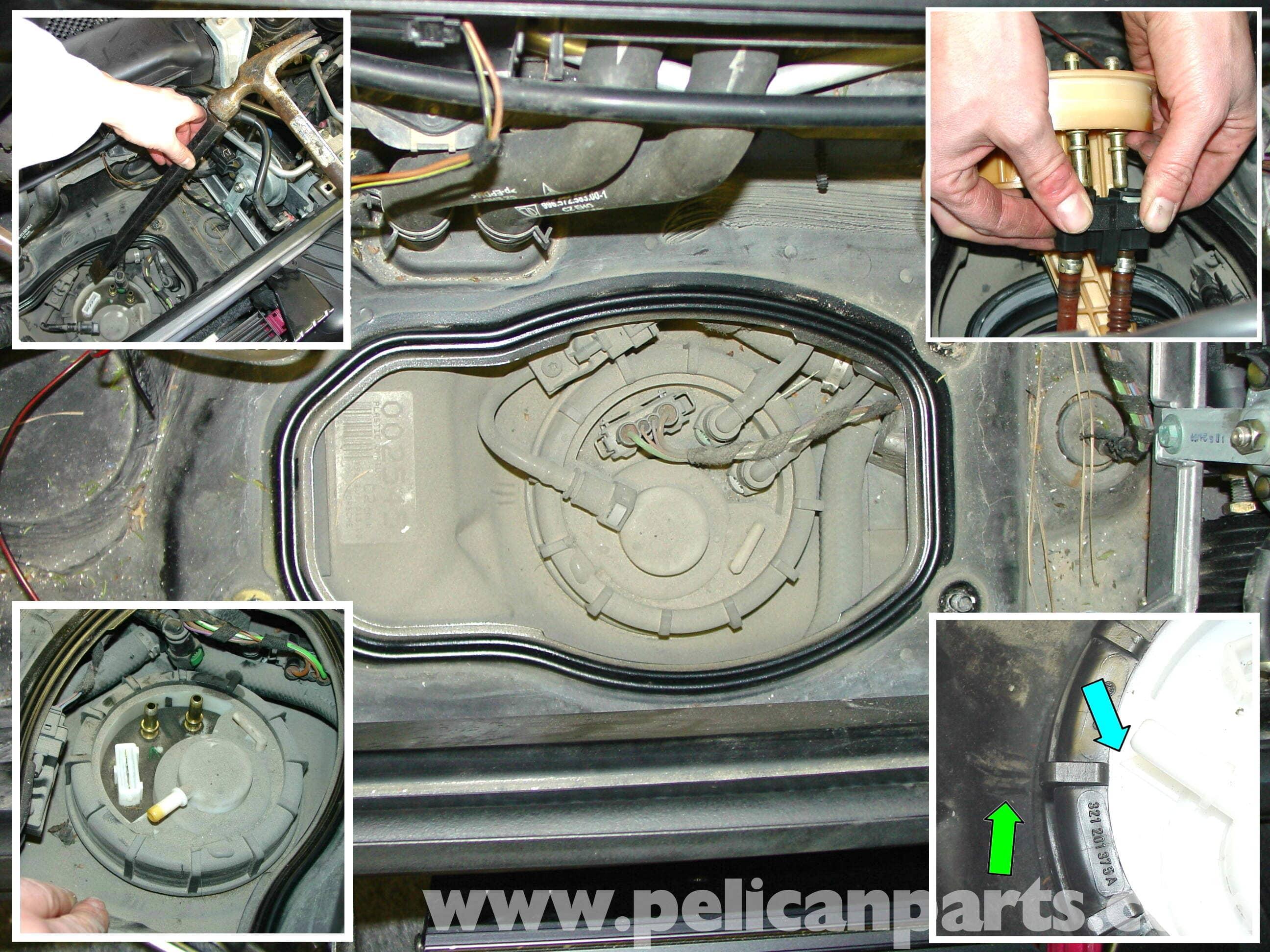 porsche 911 headlight wiring diagram prestige induction cooker circuit carrera fuel pump replacement - 996 (1998-2005) 997 (2005-2012) pelican parts ...