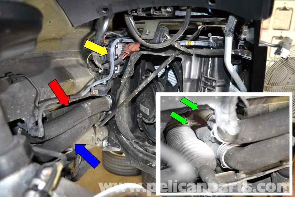 medium resolution of porsche 911 carrera coolant hose replacement 996 1998