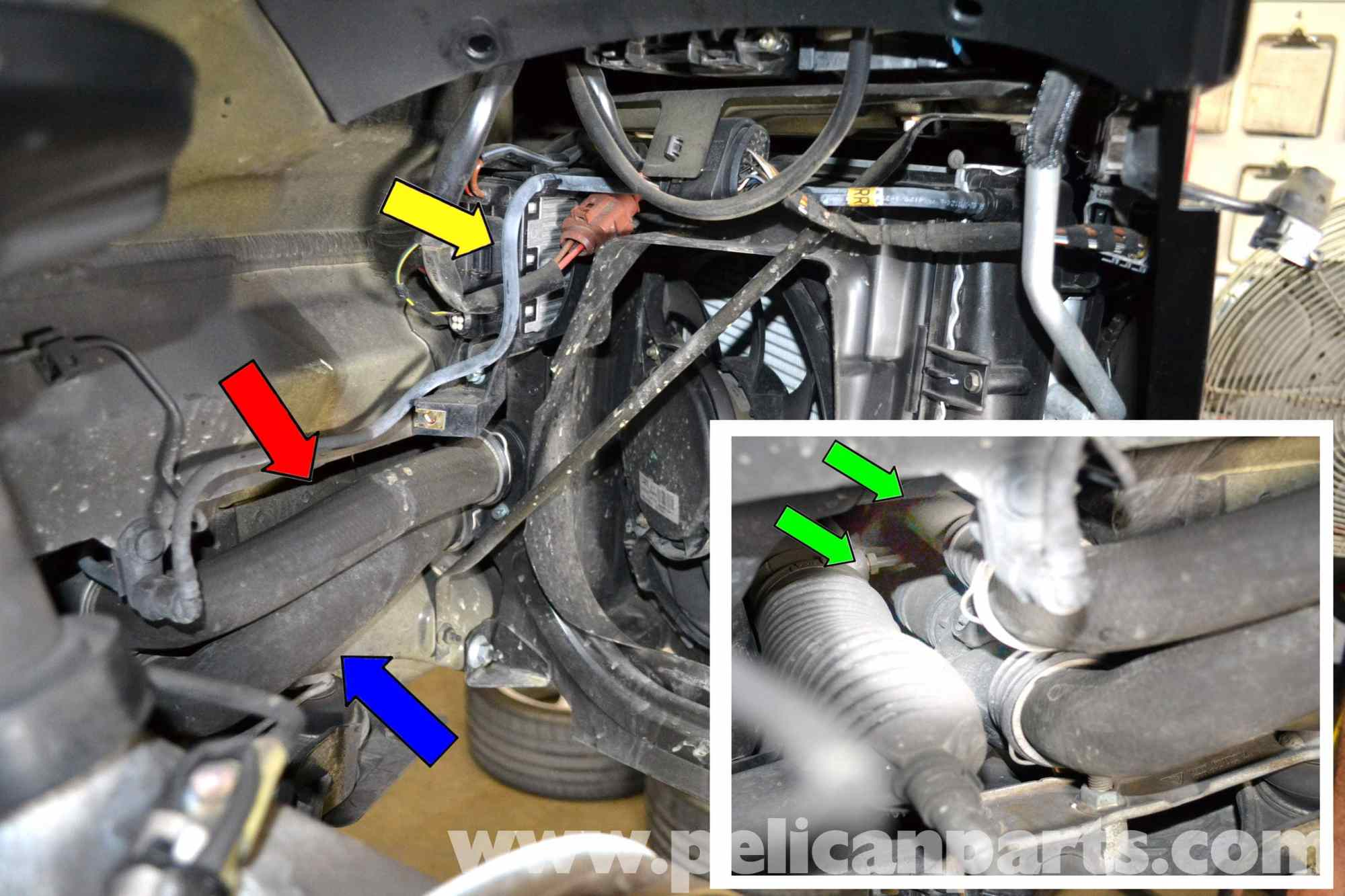 hight resolution of porsche 911 carrera coolant hose replacement 996 1998