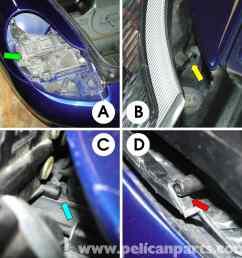 porsche 911 carrera lenses and bulb replacement 996 1998 2005 rh pelicanparts com headlight socket wiring diagram chevy headlight wiring diagram [ 2592 x 2590 Pixel ]