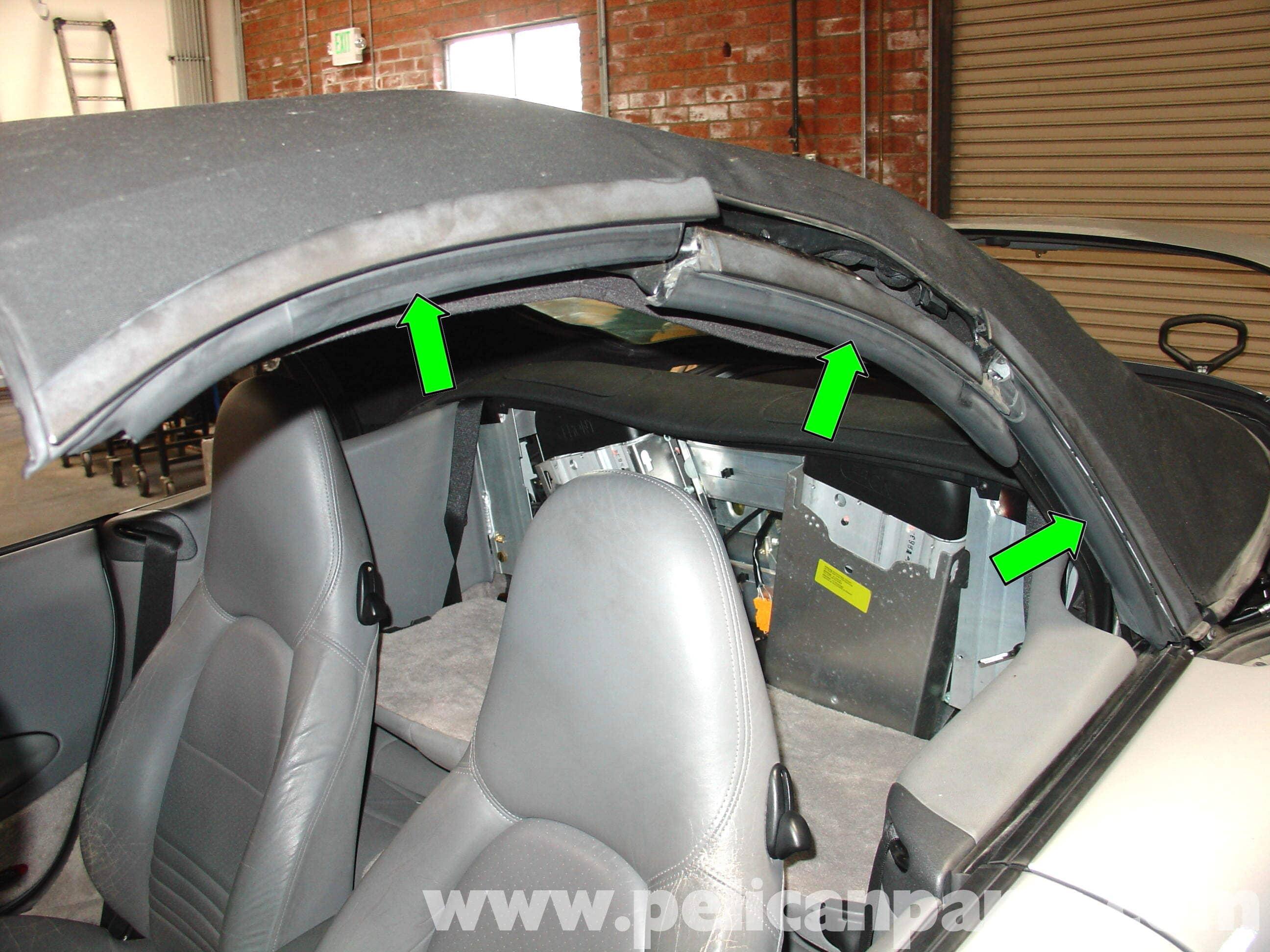 2012 Eos Fuse Box Porsche 911 Carrera Common Convertible Top Problem Repair