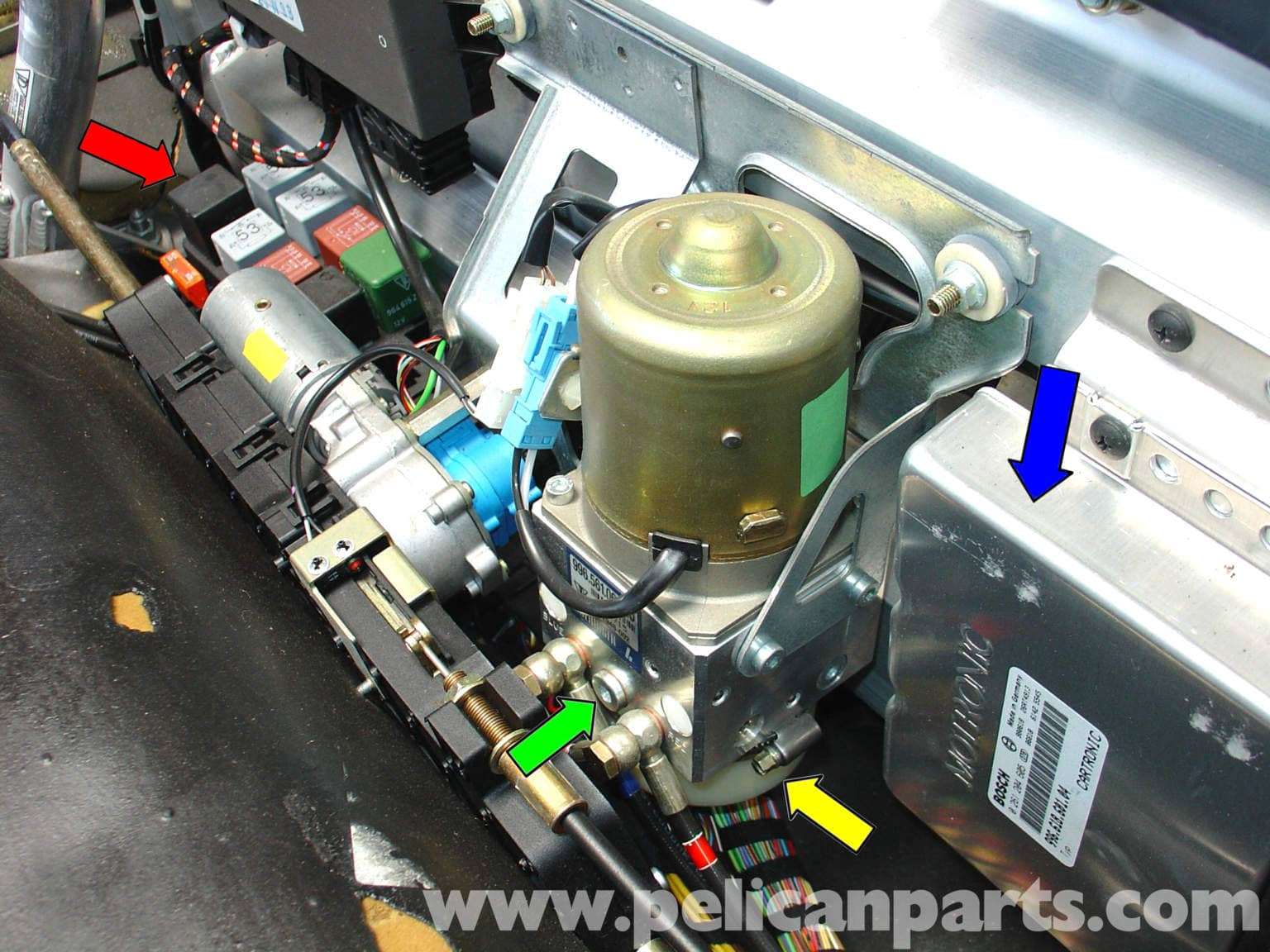 2004 Corvette Headlight Wiring Diagram Porsche 911 Carrera Convertible Top Mechanism Repair 996