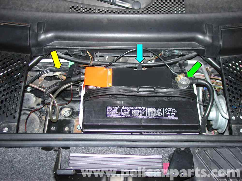 medium resolution of porsche 911 carrera battery replacement and trickle charger rh pelicanparts com 2009 porsche carrera cabriolet review fuse diagram 2009 porsche carrera