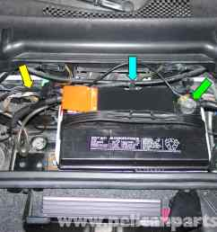 porsche 997 fuse box location wiring library porsche 911 carrera battery replacement and trickle charger large [ 1536 x 1152 Pixel ]