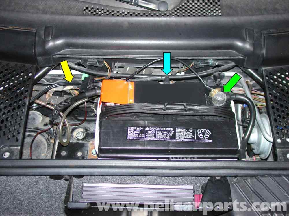 medium resolution of porsche 997 fuse box location wiring library porsche 911 carrera battery replacement and trickle charger large