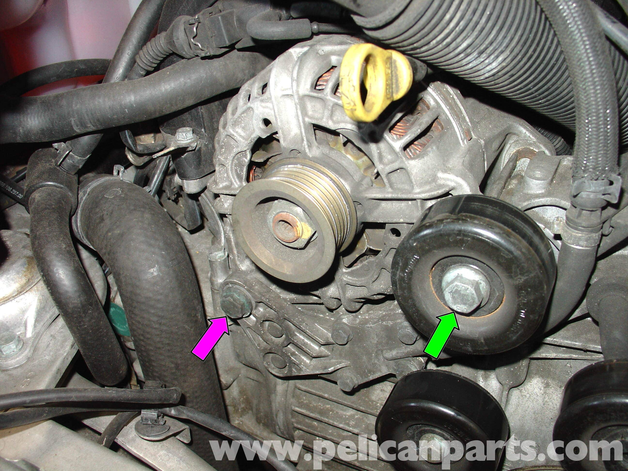 95 Wrangler Wiring Diagram Porsche 911 Carrera Alternator Replacement 996 1998