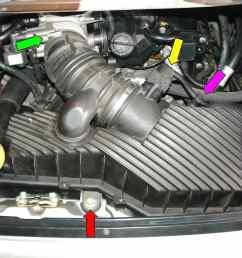 porsche 911 carrera starter replacement 996 1998 2005 997 large image porsche 2006 997 carrera fuse diagram  [ 2592 x 1944 Pixel ]