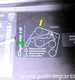 porsche cayenne serpentine belt replacement 2003 2008 pelican diagram for drive belt porsche cayenne 05 base modle v 6 [ 2592 x 1944 Pixel ]