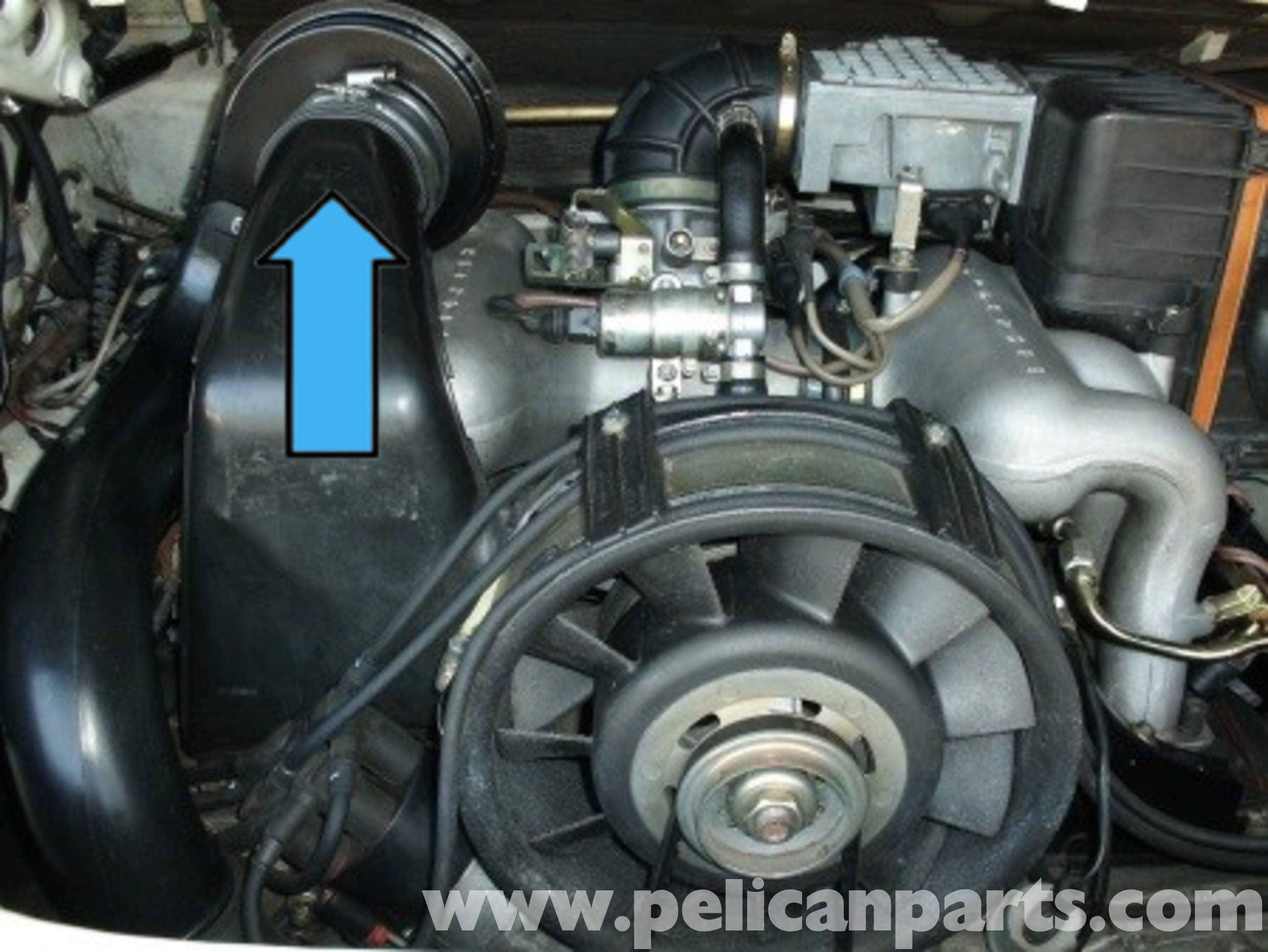 1997 Ford Explorer Fuse Diagram Under Hood Porsche 911 Heater Blower Motor Replacement 911 1965 89