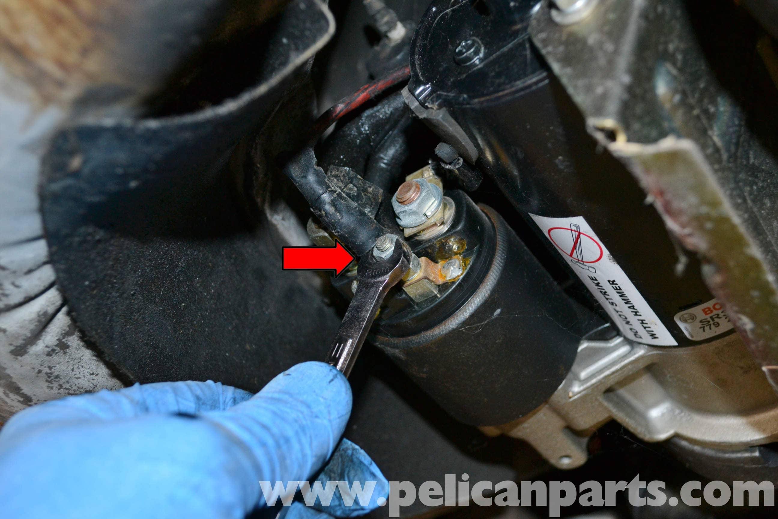 car starter motor wiring diagram 1981 shovelhead porsche 944 turbo replacement 1986 1991 pelican parts large image extra