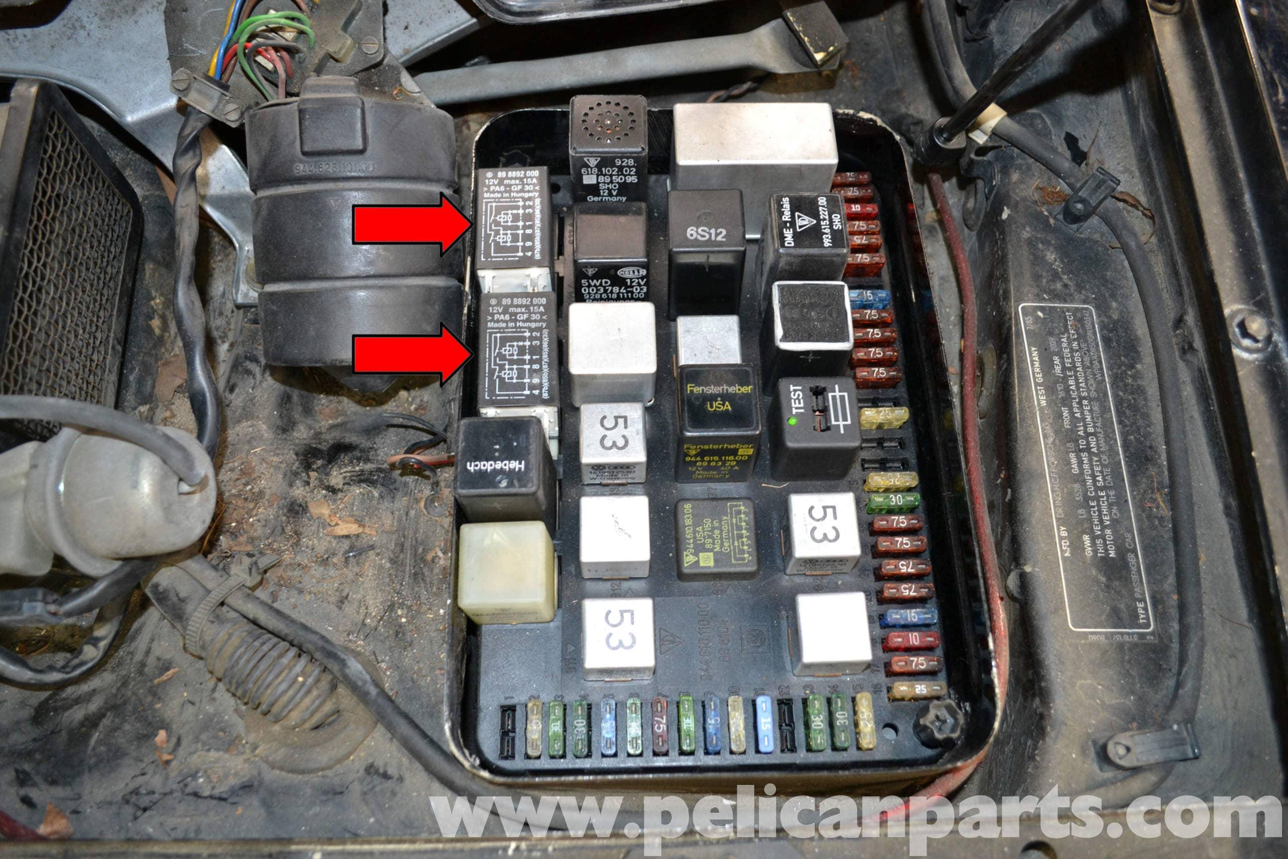 wrg 8579] porsche 944 fuse box wiring g Porsche 944 Strut Tower Brace 84 Porsche 944 Fuse Box #12