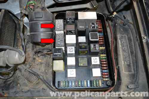 small resolution of porsche 944 fuse box removal