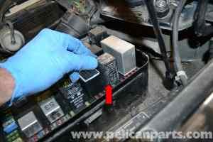 Porsche 944 Turbo Air Box and Air Flow Sensor Removal