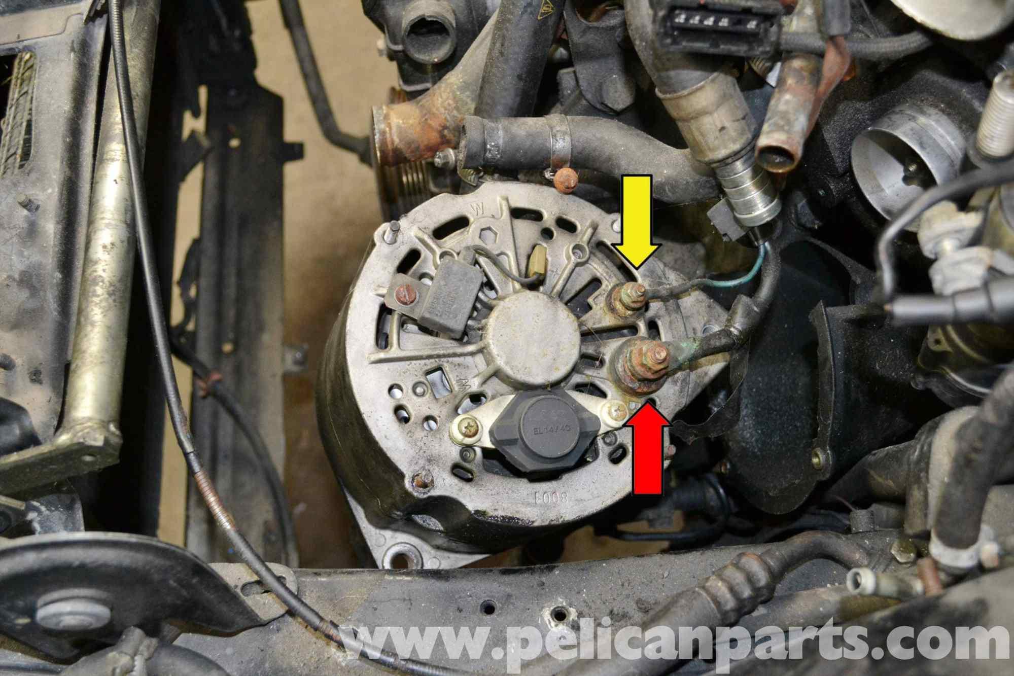 hight resolution of porsche 944 voltage regulator replacement 1986 1991 pelican porsche 24 volt alternator wiring