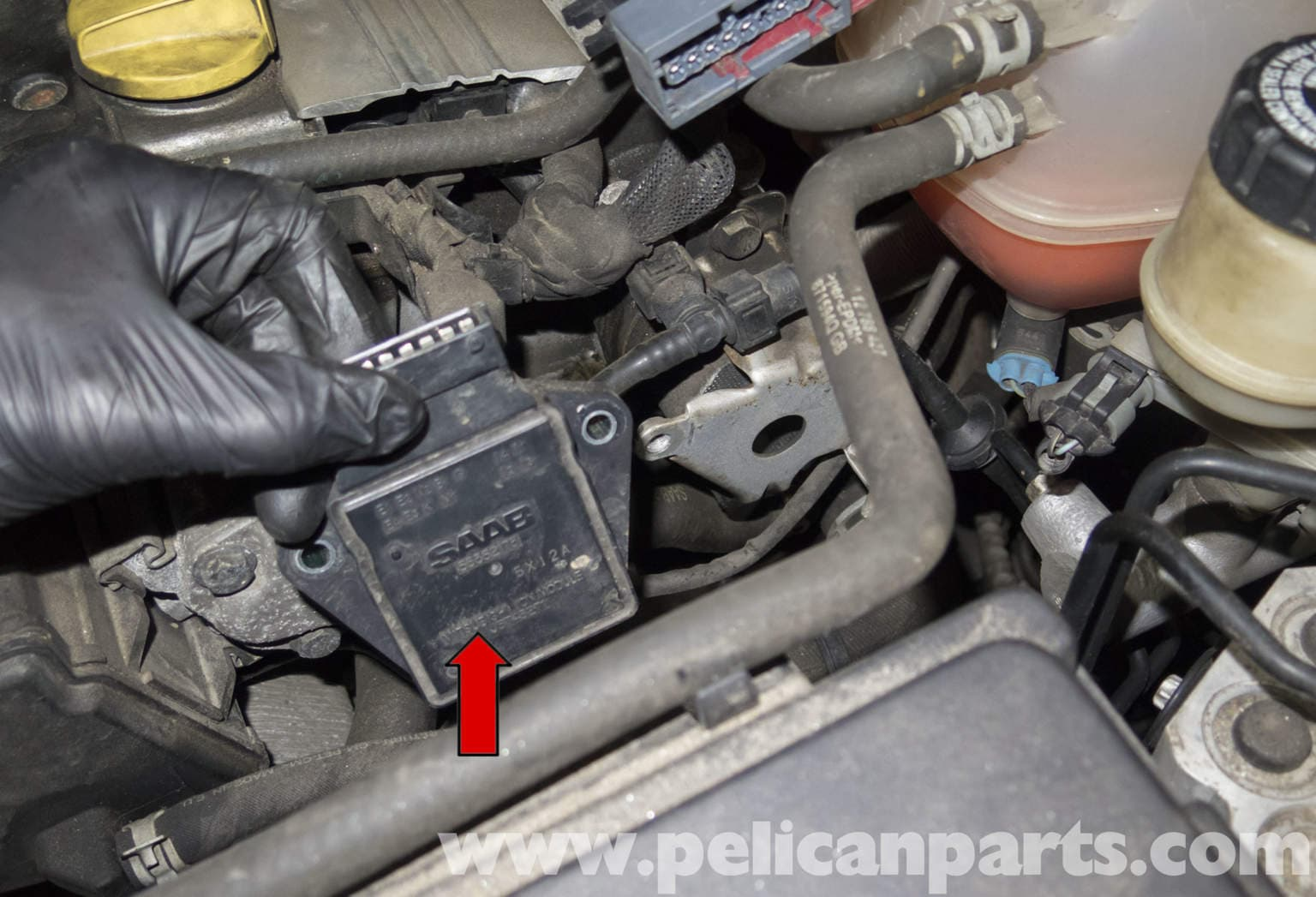 saab 9 5 engine diagram 480v 3 phase to 120 240v transformer wiring 9-3 ignition module replacement (2006-2007) | pelican parts diy maintenance article