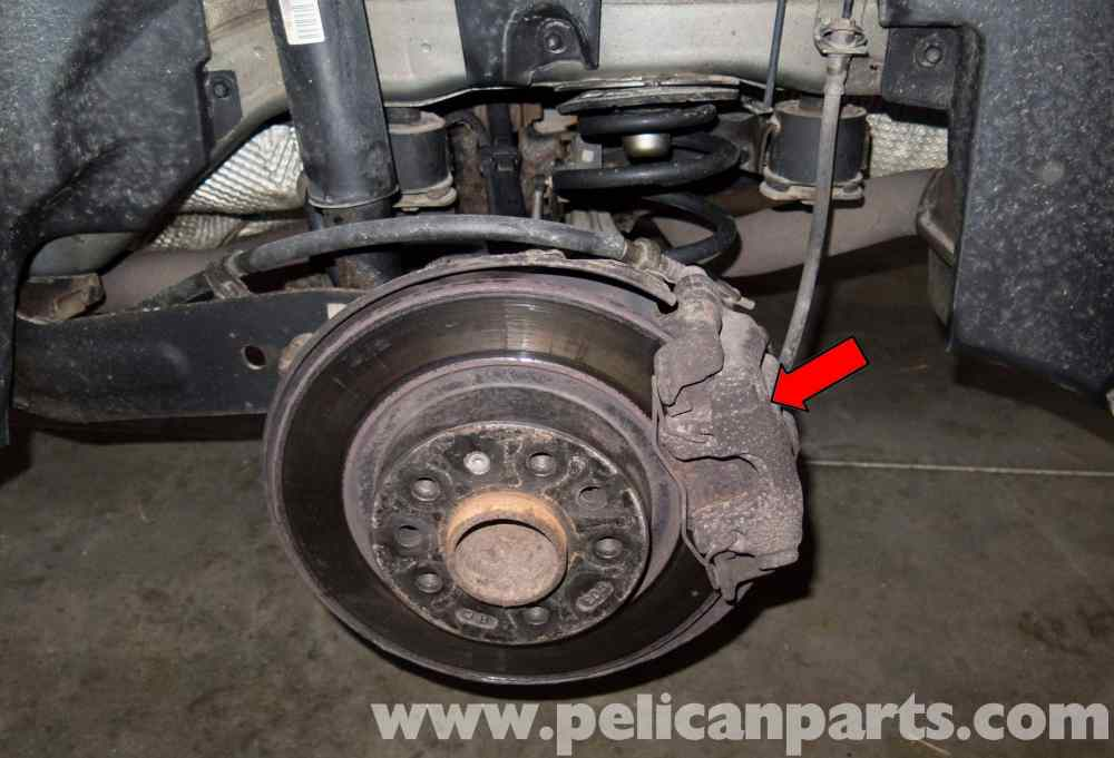 medium resolution of saab 9 3 rear brake pads rotors replacement 2006 2007 pelicanlarge image extra large