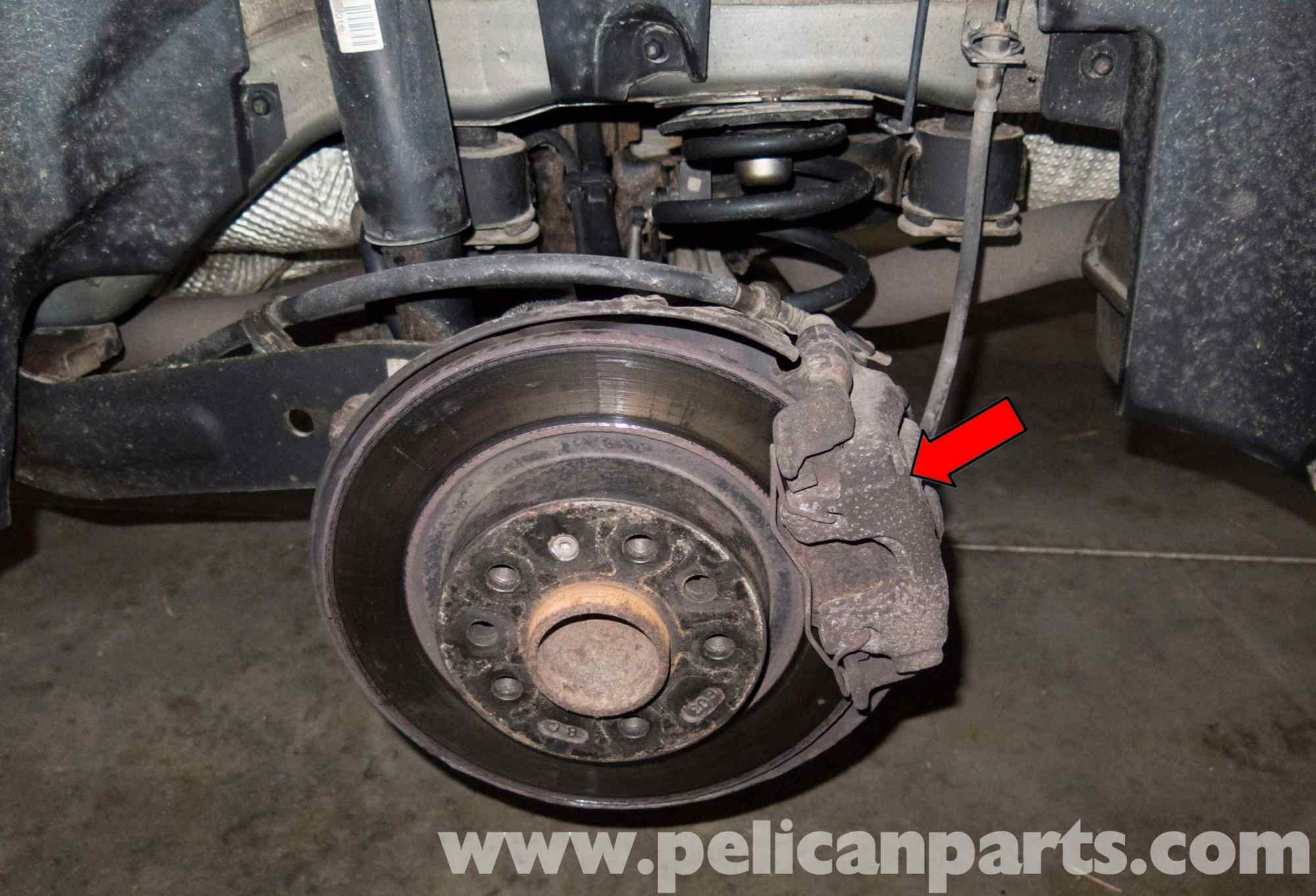 hight resolution of saab 9 3 rear brake pads rotors replacement 2006 2007 pelicanlarge image extra large