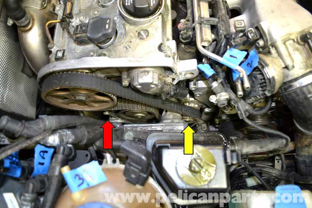 medium resolution of volkswagen golf gti mk iv water pump replacement 1999 2005large image extra large image