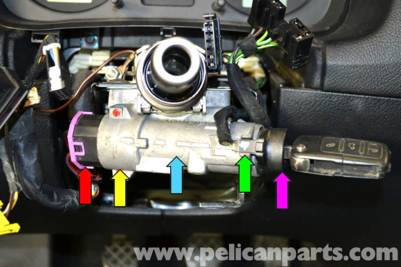 Ignition Switch And Lock Cylinder Removal And Repair On Vw And Audi