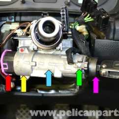 2000 Vw Jetta Wiring Diagram Freelander 2 Volkswagen Golf Gti Mk Iv Ignition Switch And Lock Cylinder Replacement (1999-2005) - Pelican ...