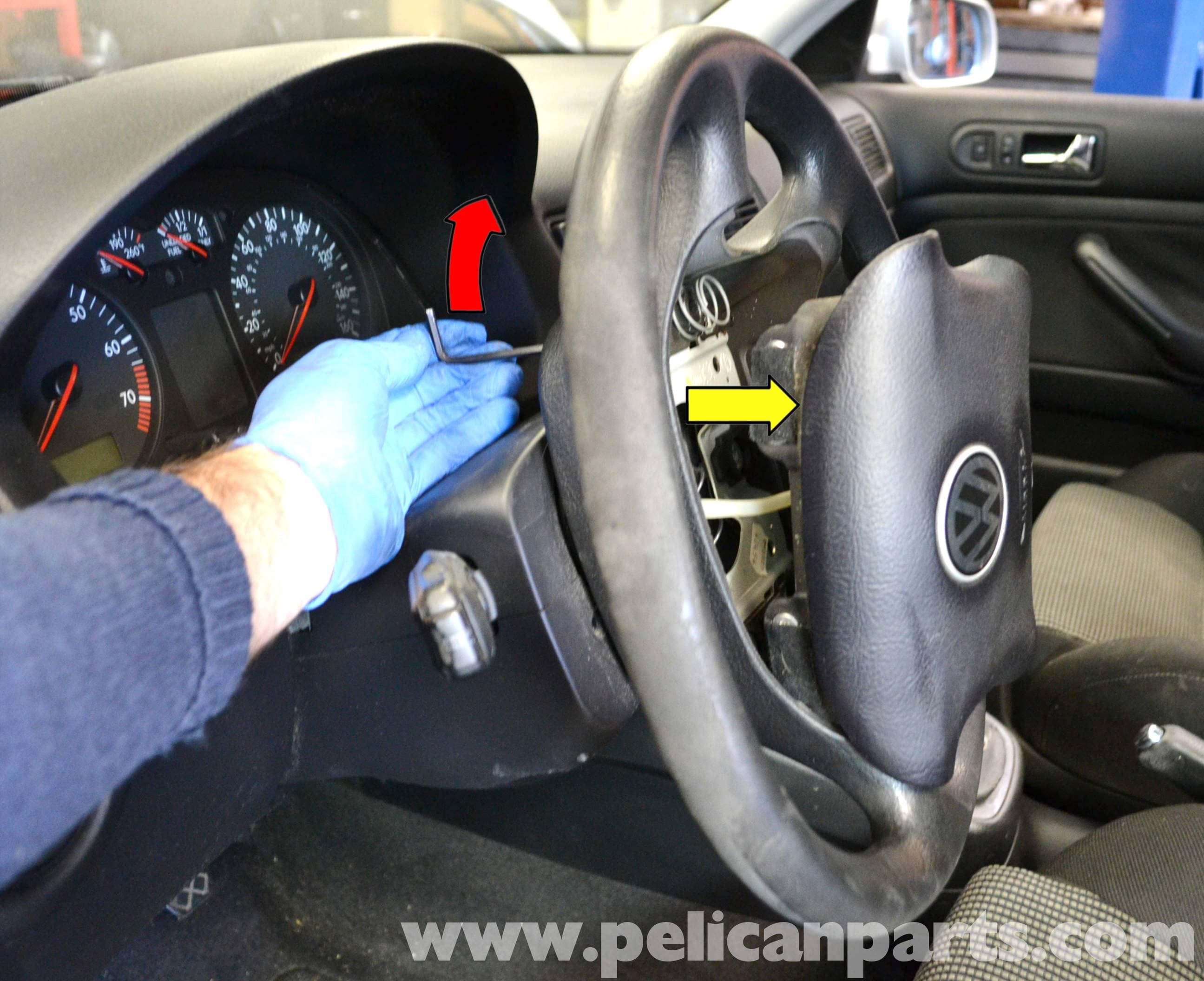 2003 Gti Headlight Wiring Diagram Volkswagen Golf Gti Mk Iv Steering Wheel And Air Bag