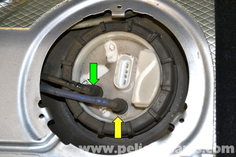 vw golf mk4 parts diagram mazda 626 wiring volkswagen gti mk iv fuel pump replacement (1999-2005) - pelican diy maintenance article