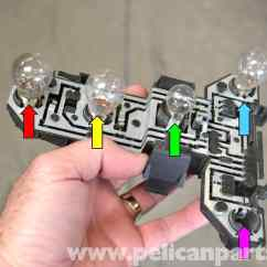 2003 Jetta Tail Light Wiring Diagram Les Paul Special P90 Volkswagen Golf Gti Mk Iv Taillight Bulbs And Assembly