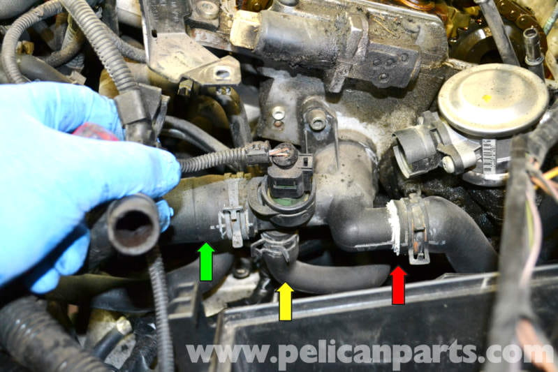 2014 Vw Gti Engine Parts Diagram Volkswagen Golf Gti Mk Iv Radiator Hose Replacement 1999