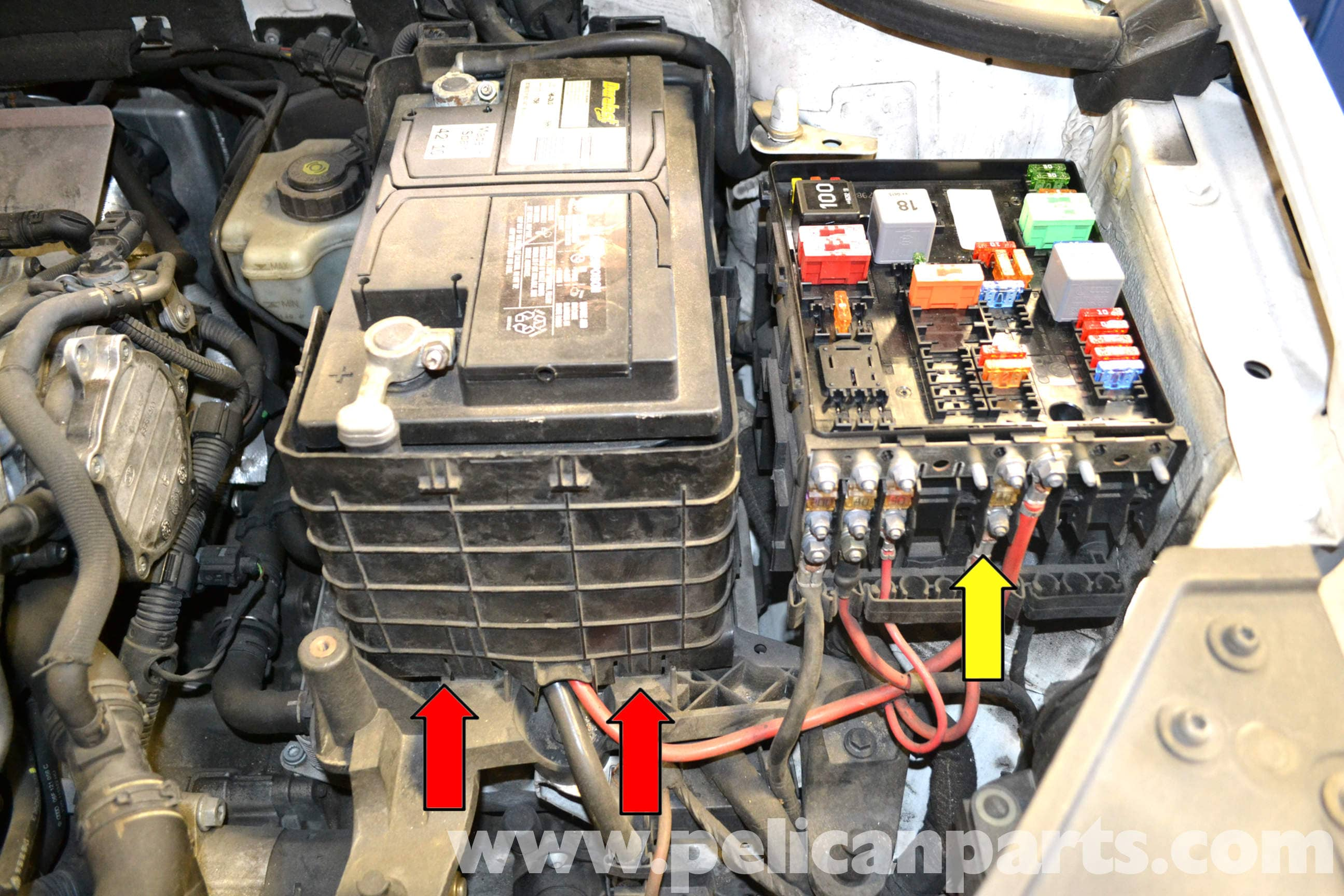2009 Jetta Tdi Wiring Diagram Grounds Volkswagen Golf Gti Mk V Battery Replacement And