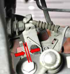 cable adjustment use a 10mm wrench and adjust the compensator until the lever on the [ 2591 x 1728 Pixel ]