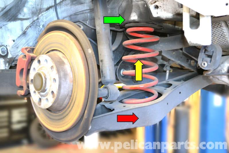 2014 Vw Gti Engine Parts Diagram Volkswagen Golf Gti Mk V Rear Spring Replacement 2006