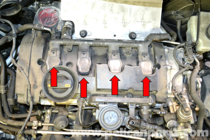 2005 Vw Jetta Wiring Harness Diagram Volkswagen Golf Gti Mk V Spark Plug And Coil Replacement