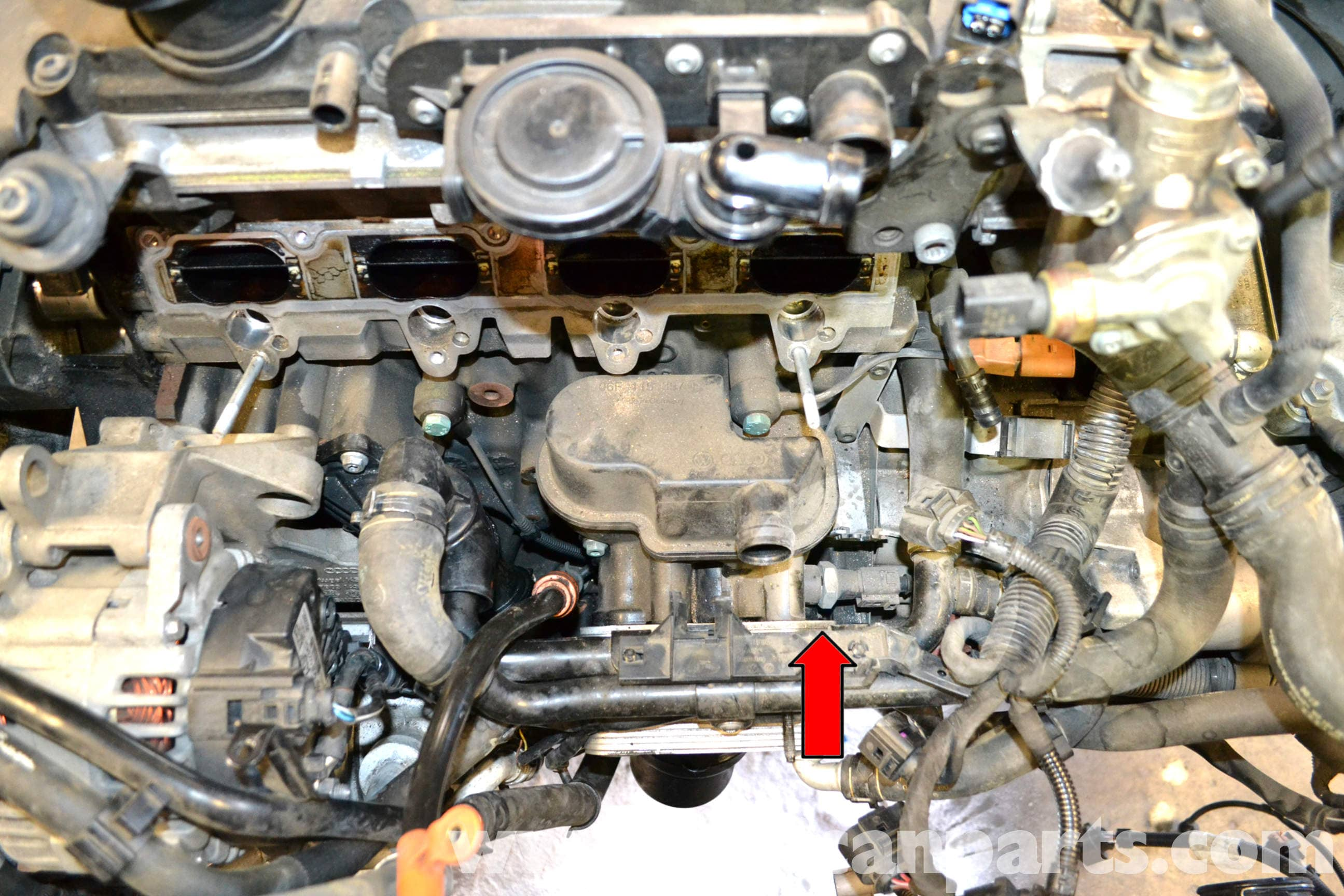 Caravan Tap Wiring Diagram Volkswagen Golf Gti Mk V Oil Pressure Switch Replacement