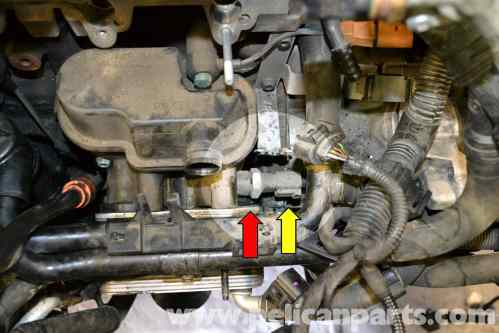 small resolution of volkswagen golf gti mk v oil pressure switch replacement 2006 2009 spark plugs replacement on fuel cut off oil pressure switch diagram
