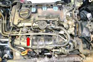 Volkswagen Golf GTI Mk V Fuel Rail Pressure Sensor Replacement (20062009)  Pelican Parts DIY