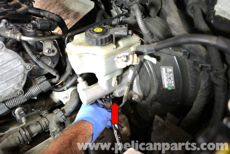 2006 volkswagen jetta wiring diagram dump trailer pump golf gti mk v brake light switch replacement (2006-2009) - pelican parts diy ...