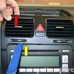 Vw Golf Mk5 Stereo Wiring Diagram Vga To Rca Volkswagen Radio Www Toyskids Co Gti Mk V Center And Side Vent Removal