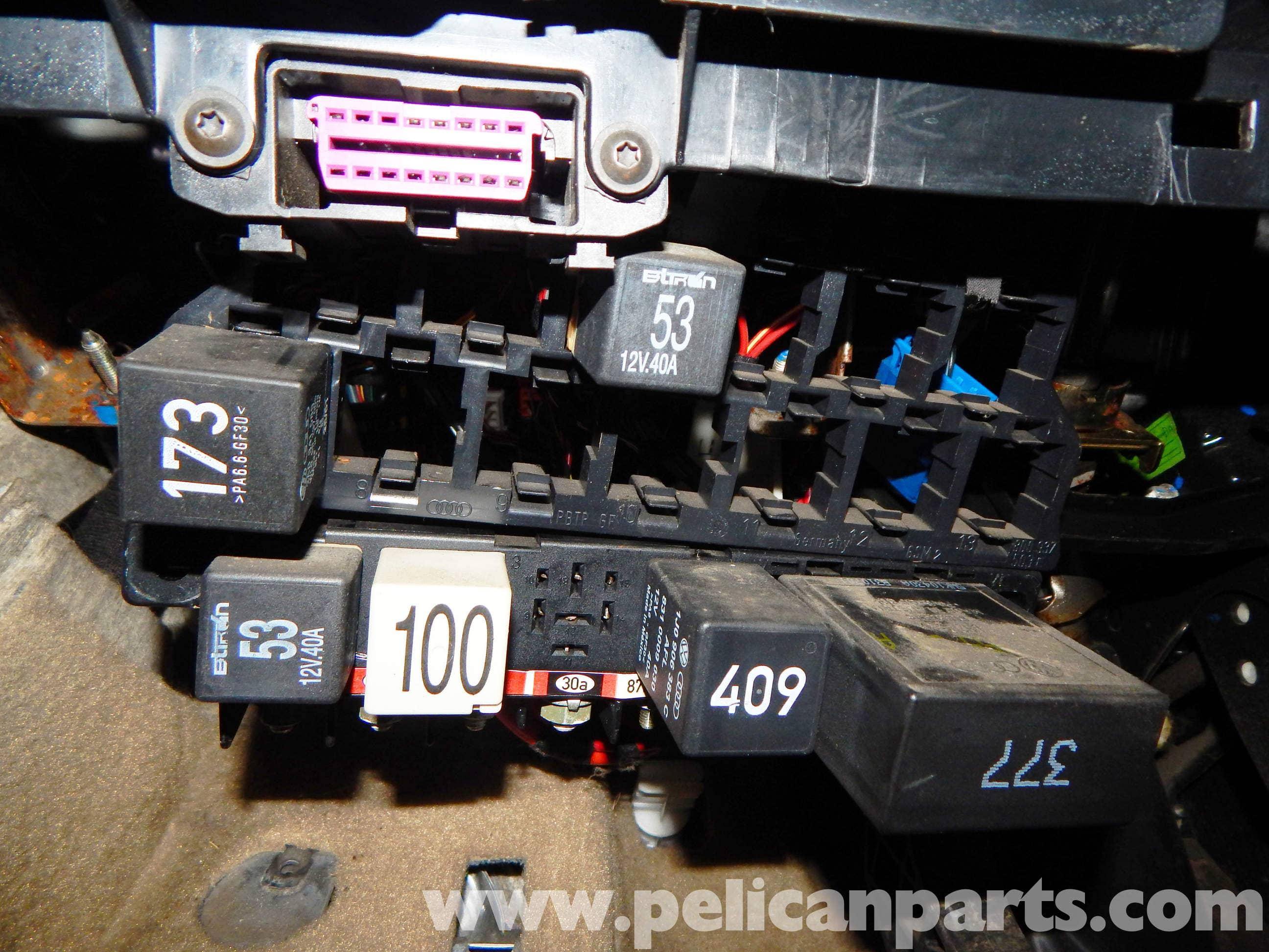 2007 Volkswagen Gti Fuse Box Diagram Volkswagen Jetta Mkiv Relay Panel Access And Relay