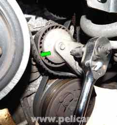 volvo c30 belt and tensioner replacement 2007 2013 pelican parts volvo c30 drive belt diagram [ 2592 x 1944 Pixel ]