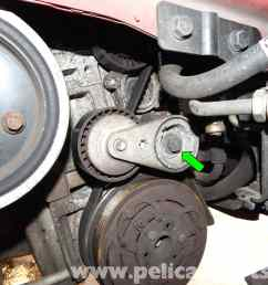 volvo c30 belt and tensioner replacement 2007 2013 pelican parts mix large image extra [ 2592 x 1944 Pixel ]