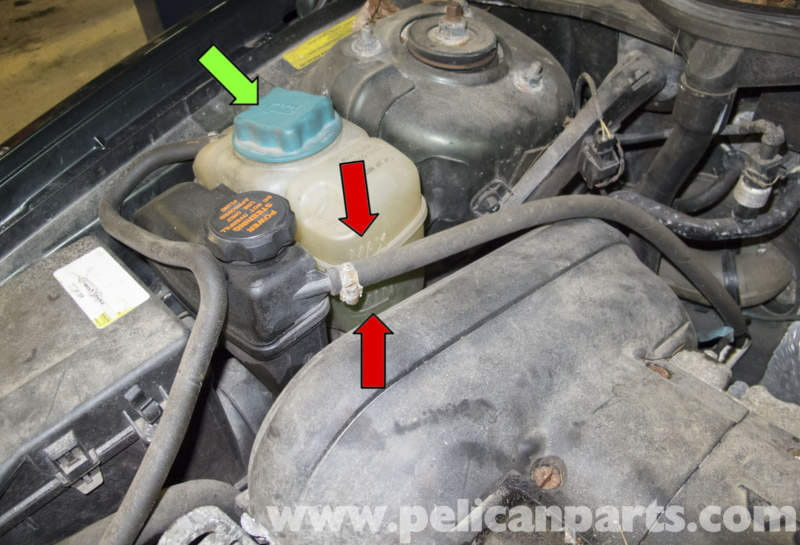 1998 volvo v70 engine diagram craftsman ltx 1000 parts coolant system draining and filling (1998-2007) - pelican diy maintenance article