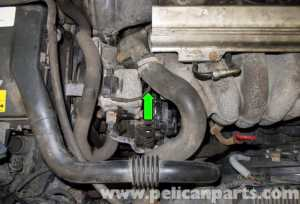 Volvo V70 Coolant Temperature Sensor Testing and
