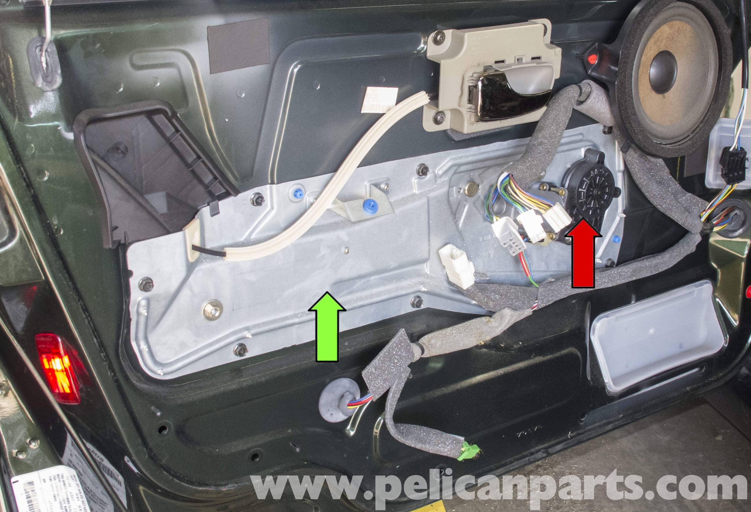 2007 Ford Escape Wiring Diagram Volvo V70 Front Window Regulator Replacement 1998 2007