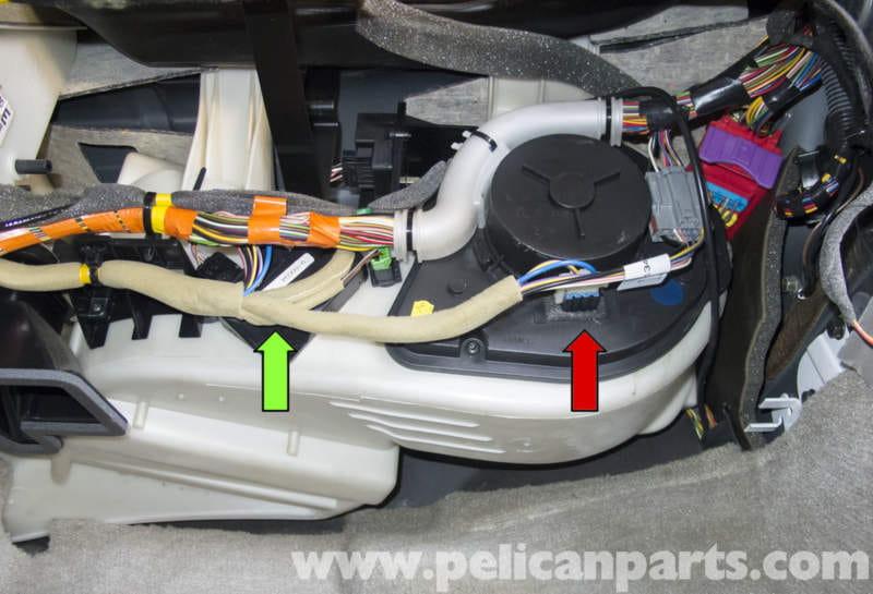 volvo v70 wiring diagram for 1995 dodge ram 2500 blower motor and resistor testing (1998-2007) - pelican parts diy maintenance article