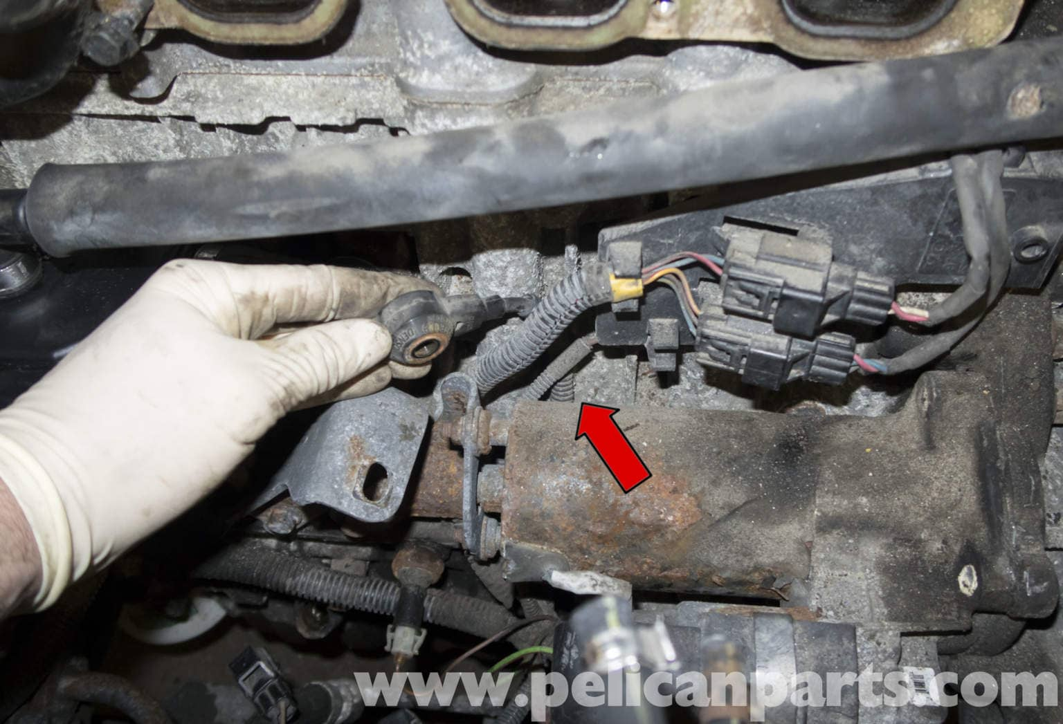 2005 Volvo Xc90 Wiring Diagram Volvo V70 Knock Sensor Testing And Replacement 1998 2007