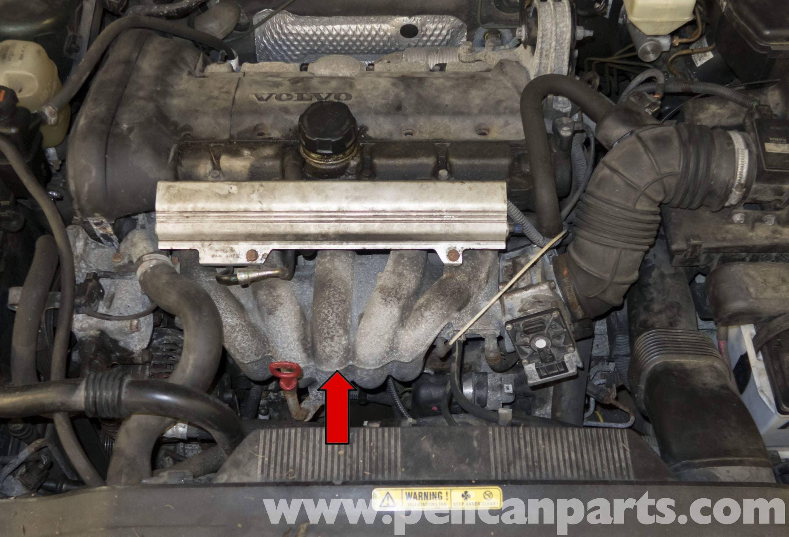 2010 Chevy Aveo Engine Diagram Volvo V70 Intake Manifold Replacement 1998 2007