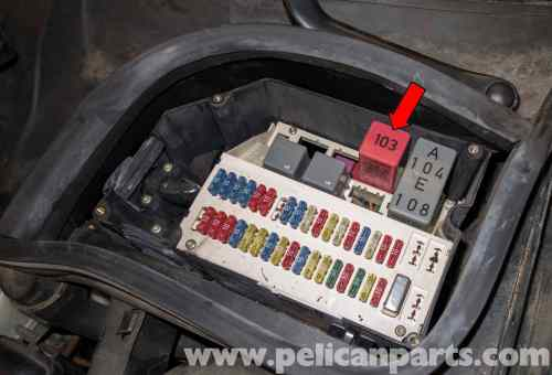small resolution of volvo v70 fuel pump replacement 1998 2007 pelican parts diy 2001 volvo v70 fuel pump t5 wiring diagram