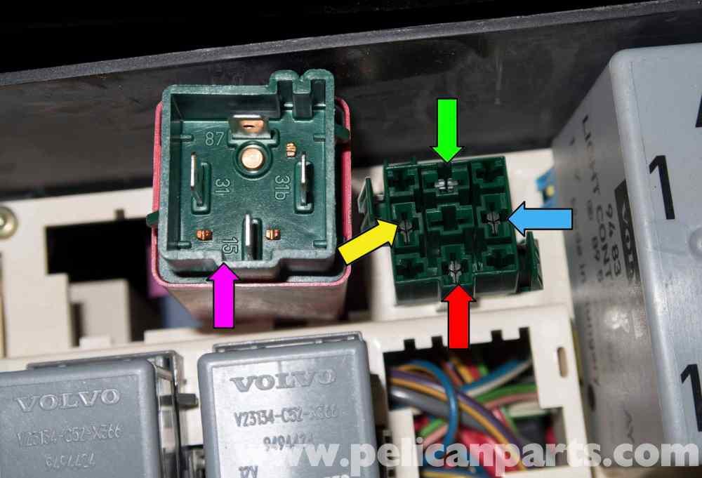 medium resolution of volvo v70 fuel pump replacement 1998 2007 pelican parts diy rh pelicanparts 1999 s80 fuse box
