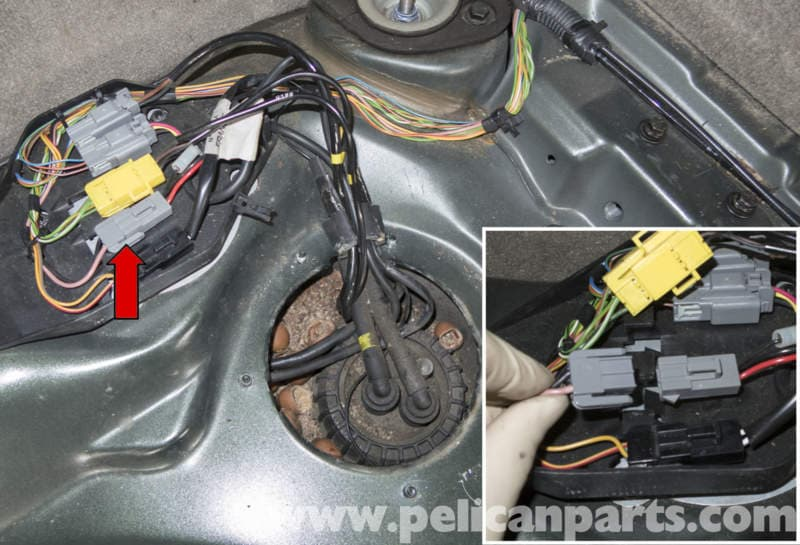 volvo xc90 wiring diagram 2001 chevy silverado fuse v70 fuel pump replacement (1998-2007) - pelican parts diy maintenance article